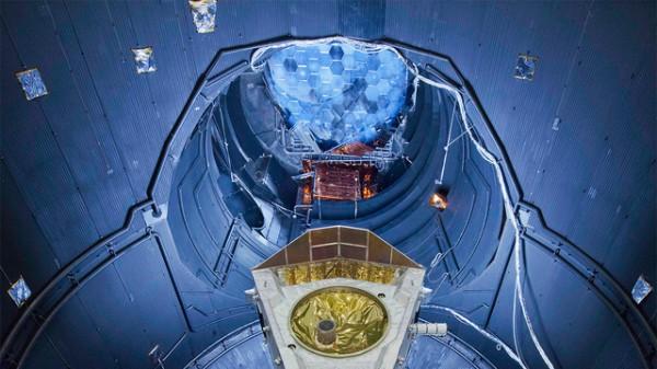 1. O interior do Grande Simulador Espacial