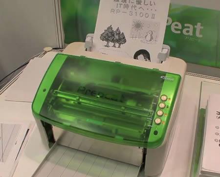 4 – Empresa cria impressora que não usa tinta nem papel
