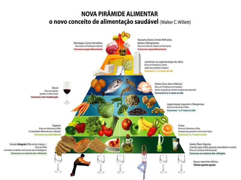 Nutrientes - tipos, classificação, composição dos alimentos