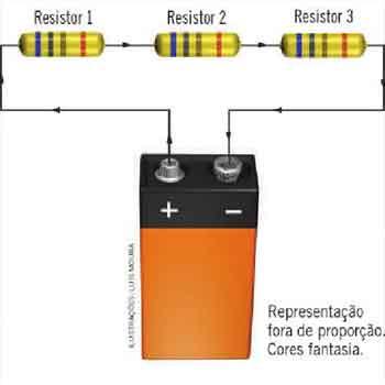 Associação de Resistores mista, em paralelo e em série