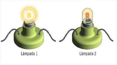 duas lâmpadas